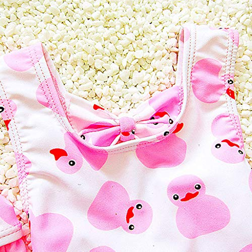 sito affidabile 820ba 962e6 LianMengMVP Neonata Infantile Modello Anatra Stampata Estate Costume Intero  Bikini per Bambini Costumi da Bagno Bikini Costumi (12Mese - 5Anni)