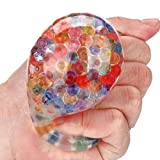 Squishy juguete, Spongy Rainbow Ball Toy Squeezable Stress Squishy Toy...