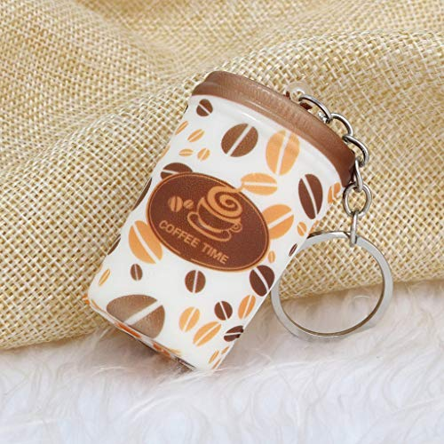Mitlfuny Kawaii Langsam Dekompression Creme Duftenden Groß Squishy Spielzeug Squeeze Spielzeug,Dekorativer Spaß-Kaffee-Zeit-Squeeze-langsame aufsteigende Creme duftende Nette ()