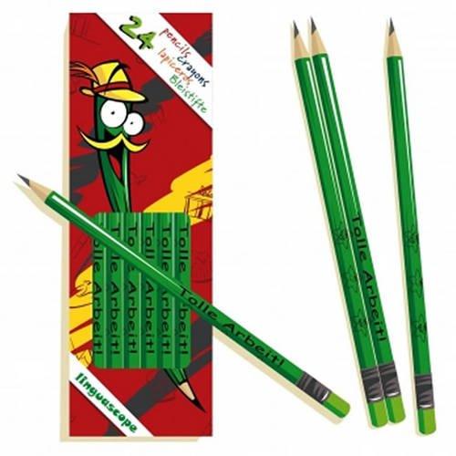 Pack of 24 German Pencils (