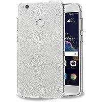 iVoler Funda Huawei P8 Lite 2017, Slim Fit Huawei P8 Lite 2017 Funda Carcasa Case Bumper con Absorción de Impactos y Anti-Arañazos Espalda Case Cover para Huawei P8 Lite 2017 - Crystal Quartz