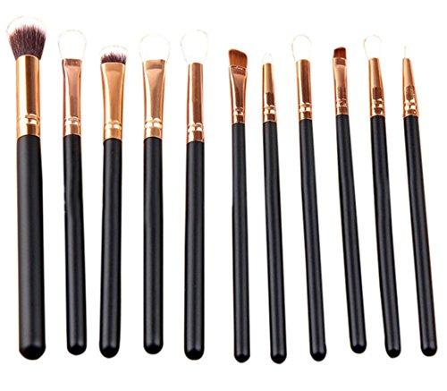 bigboba 12Eye Pinsel-Set Pro Make-up Tools Kosmetik Pinsel Eyeliner Lidschatten Pinsel (Pro Makeup Eye)