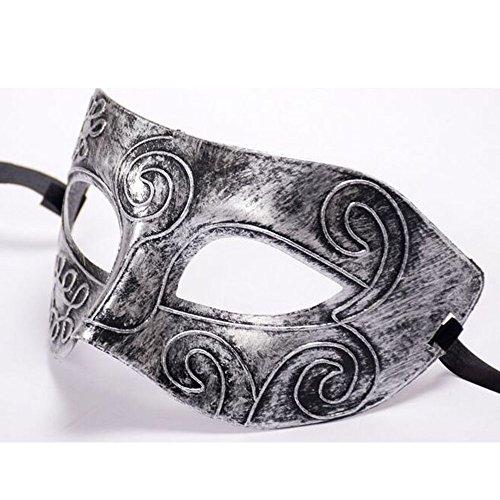 SilenceID Maskerade Maske Halloween Cosplay Kostüm Retro Roman Half Face Ball Maske für Frauen Mädchen - Spider Mann Paare Kostüm