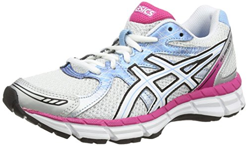 ASICS Gel-Oberon 9, Running Entrainement Femmes Blanc (White/Pearl White/Hot Pink 100)