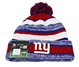 NEW YORK GIANTS - NEW ERA BEANIE - NFL 14 SPORT KNIT GAME - BLUE / WHITE / RED