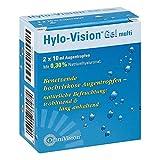 Hylo-Vision Gel multi Augentropfen, 2x10 ml