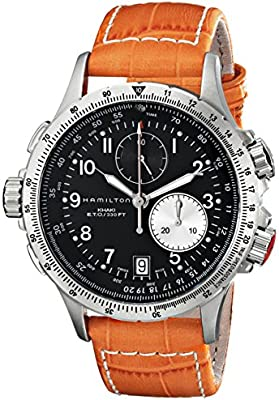 Hamilton Khaki Aviation H77612933 Reloj para hombres Reloj Aeronóautico