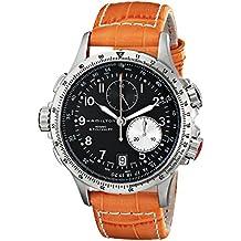 b6f0e7a8db28 Hamilton Reloj Analogico para Hombre de Cuarzo con Correa en Cuero H77612933