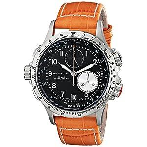 Hamilton Reloj Analogico para Hombre de Cuarzo con Correa en Cuero H77612933