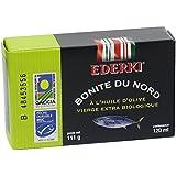 Ederki Bonite du Nord à l'Huile d'Olive Vierge Extra Biologique 111 g - Lot de 5
