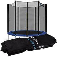 Kinetic Sports Trampolinnetz Sicherheitsnetz Ersatznetz für Trampoline mit einem Durchmesser von ca. 183 250 275 310 335 370 400 430 490 cm
