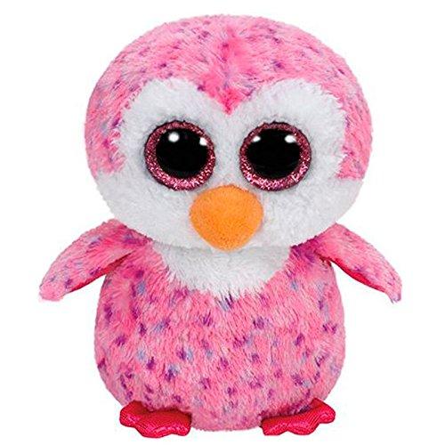"""Beanie Boo Penguin - Glider - Pink - 40cm 16"""""""