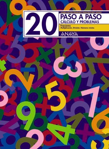 20. Fracciones. Multiplicación. División