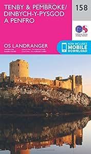 Landranger (158) Tenby & Pembroke (OS Landranger Map)