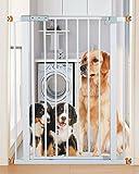 YHDD Baby Sicherheitstür Isolationstür Kinder Balkon Schutz Hundetreppe Schutz festen Schutztür (Farbe : 64-74cm)