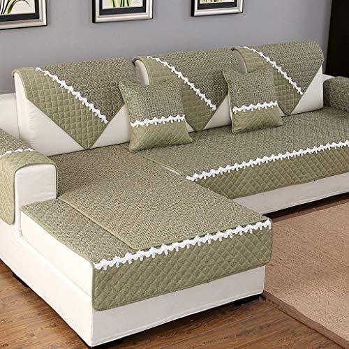 Manicotto del divano antiscivolo Manicotto Prossoezione antiscivolo, Copridivano antiusura antiusura antigoccia in lino Prossoezione Manicotto dell'animale domestico Prossoezione domestica ( Coloreeee   A , dimensioni   90X180cm ) 88042e