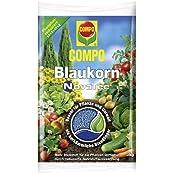 COMPO Blaukorn® NovaTec®, fester Unviversaldünger für alle Gartenkulturen, für eine verbesserte Qualität des Ernteguts, 3 kg