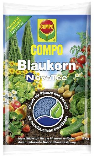 COMPO Blaukorn NovaTec, Universaldünger für den Garten, 3 kg