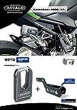 Artago 69T3 Candado Antirrobo Disco Alta Gama y Soporte para Kawasaki Z900 2017 2018