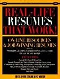 Real Life Resumes That Work: On-Line Resources & Job-Winning Resumes from the World's Leading Career Consulting Firm Drake Beam Morin (Careerworks Guide) by Bob Stirling (1994-12-31)