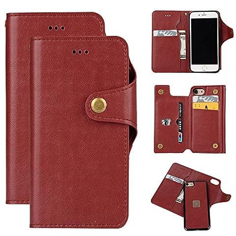 iPhone 6 Case, iPhone 6S Case, Sunroyal PU Leather Flip