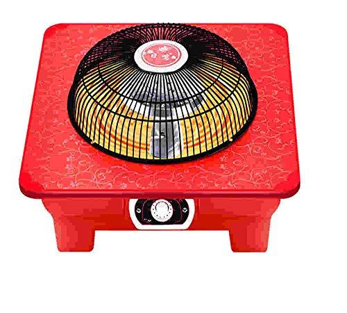 FTYUC Calefactor, Calefactor, Calefactor eléctrico. Hogar Solar pequeño. Ahorro de energía. Estufa de brasero. Tostador.
