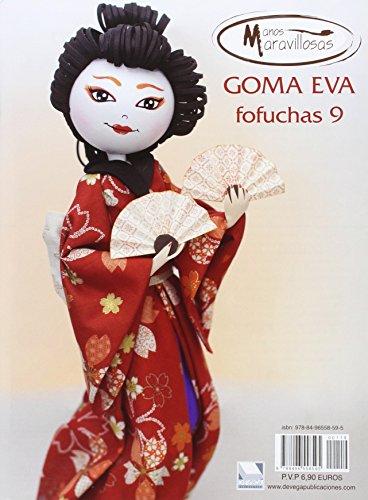 comprar libro Goma Eva - Fofuchas 9 (Manos Maravillosos)