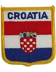 Yantec wappenpatch croatie écusson