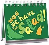 Now we have the salad!: Mit 24 Postkarten zum Heraustrennen