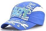 Roffatide BOY Maillage Patch Impression Casquette de Baseball Réglable Chapeau de Soleil pour Garçons Filles Enfant Été Bleu