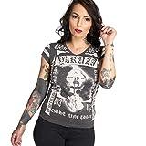 Yakuza Damen Kiss My XXX V-Neck T-Shirt