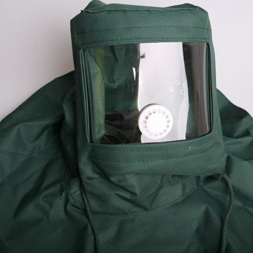atoplee 1sand Proof Hitze Schutz Kapuze Gesicht Maske Anti-Staub Ausrüstung (Gesichts-ausrüstung)