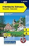 Fränkische Schweiz Outdoorkarte Deutschland Nr. 37: Wiesenttal, Pottenstein, 1:35 000, Mit kostenlosem Download für Smartphone (Kümmerly+Frey Outdoorkarten Deutschland) -