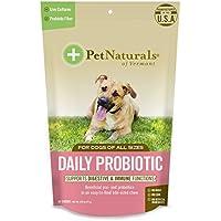 Mascota del Natural de Vermont diario para perros, para la salud digestiva Probiótico Suplemento, 60Bite tamaño suave–Chucherías