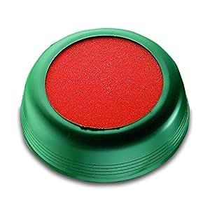 Chemin de 70711anfeuchter pour timbres et enveloppes Poignée élastique Bol Vert Diamètre 85mm