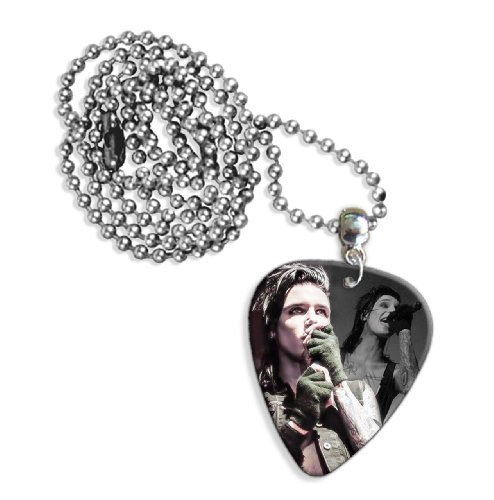 Black Veil Brides Andy Biersack (WK) Live Performance Gitarre Plektrum Pick Halskette Necklace Black Veil Brides-instrumente