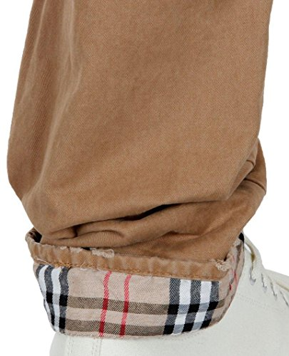 Red bridge squared regular fit homme denim jeans pour homme marron Marron - Marron