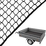 RETE rimorchio 3,5x 8,0m CareTec® bagagli Rete Rete di copertura per il backup di carica