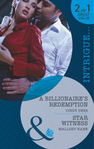 book cover of A Billionaire\'s Redemption / Star Witness