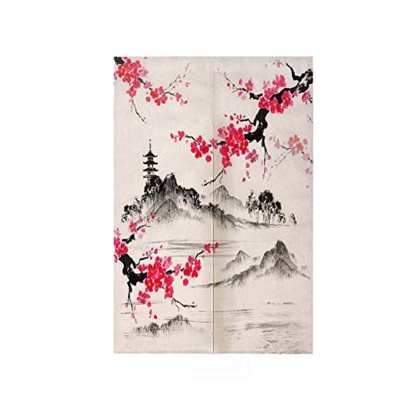 Bain Japonais Onsen Femmes Rouge Narumikk Narumi Noren Rideau Japonais Traditionnel Onsen Bain Japonais