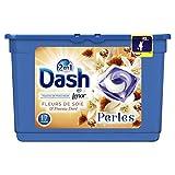 Dash 2en1 Perles Lessive en Capsules Soie & Freesia 17 Lavages - Lot de 3