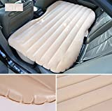 #3: PETRICE Multifunctional Inflatable Car Mattress, Car Inflation Bed, Travel Air Bed Camping Car Back Seat,with Repair Pad,Air Pump For Travel