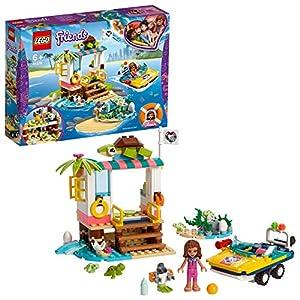 LEGO - Friends La missione di soccorso delle tartarughe, Playset con Olivia Mini-doll, Zobo the Rotot e 4 Baby Turtles… 5702016370201 LEGO