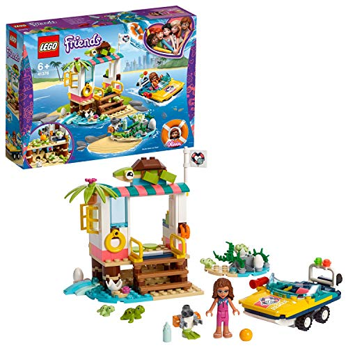 LEGO® -La Mission de Sauvetage des Tortues Friends Jeux de Construction, 41376, Multicolore