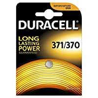 Duracell Specialty Type 371/370 Silver Oxide Camera Battery, pack of 1