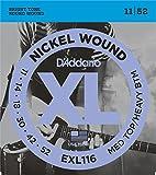D'Addario EXL116 - Juego de cuerdas para guitarra el�ctrica de n�quel, 011' - 052'
