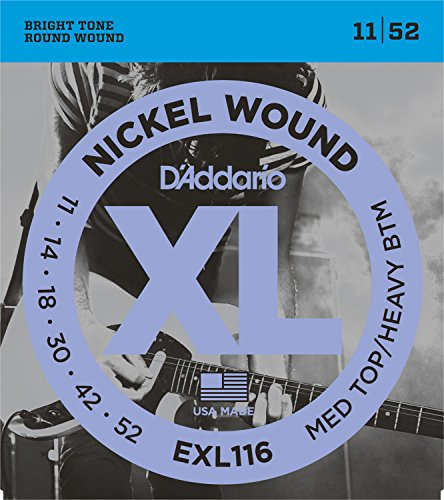 D'Addario EXL116 - 011' - 052'