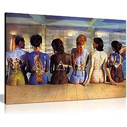 Panther Print Photo d'art mural imprimée sur une toile Catalogue Pink Floyd sur des dos, 76 x 50cm, A0 91x61cm (36x24in)