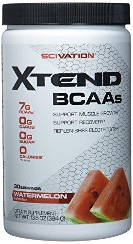 Scivation Xtend Original BCAA (30serv.) Watermelon 375 g (Glas Flasche Herzstück)