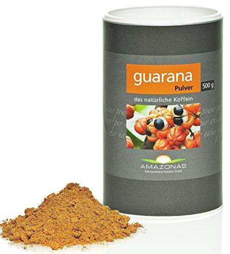 Amazonas Naturprodukte • Guarana Pulver aus Wildwuchs • 500gschonend getrocknet • Rohkostqualität • 100% naturbelassen • Hochwertiges Superfood aus dem Amazonasgebiet • Direkt vom Importeur